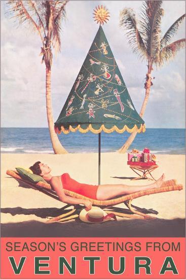 Season's Greetings from Ventura--Art Print