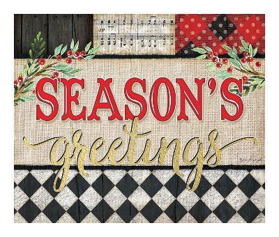 Season's Greetings-Jennifer Pugh-Art Print