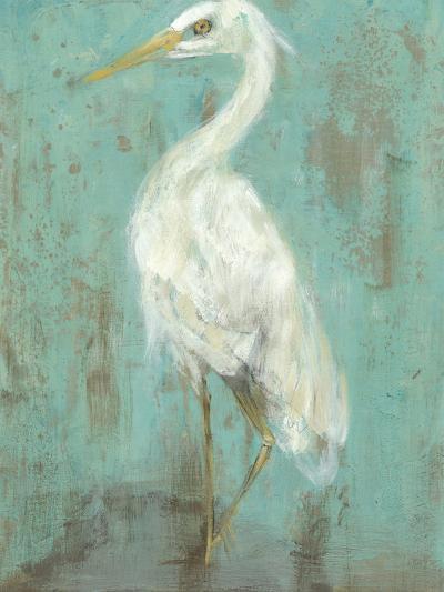 Seaspray Heron II-Jennifer Goldberger-Art Print