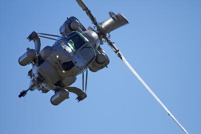 Seasprite Helicopter (Kaman SH 2G Seasprite) Airshow-David Wall-Photographic Print