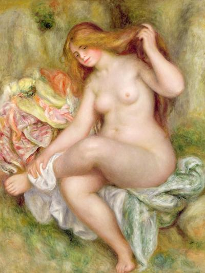 Seated Bather, 1903-06-Pierre-Auguste Renoir-Giclee Print