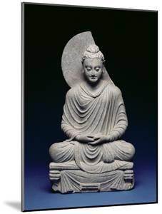 Seated Buddha, Gandhara, 1st-3rd Century Ad