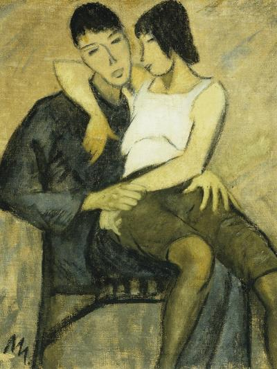 Seated Couple-Otto Mueller-Giclee Print