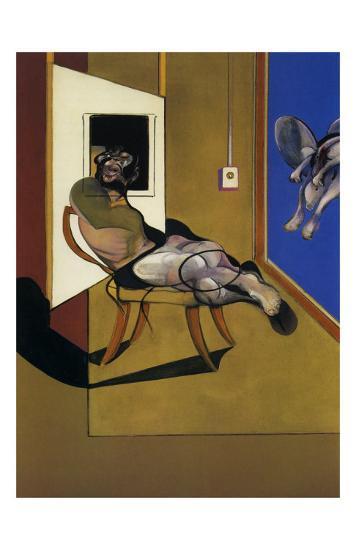 Seated Figure, c.1974-Francis Bacon-Art Print
