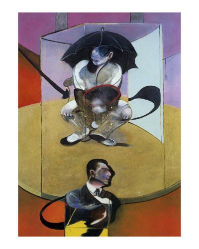 Seated Figure, c.1978-Francis Bacon-Art Print