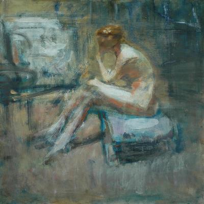 Seated Nude, C.1920-Ambrose Mcevoy-Giclee Print