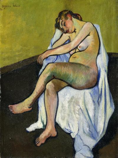 Seated Nude; Nu Assis, 1916-Suzanne Valadon-Giclee Print