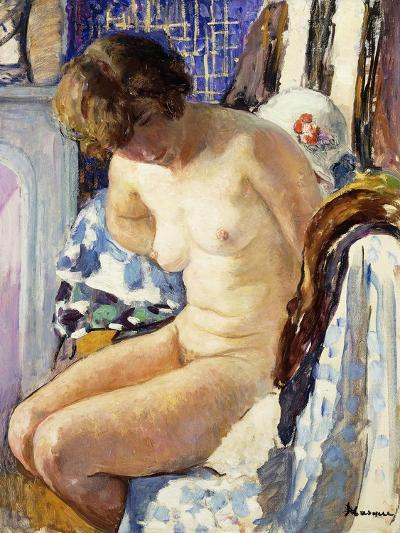 Seated Nude; Nu Assise-Henri Lebasque-Giclee Print