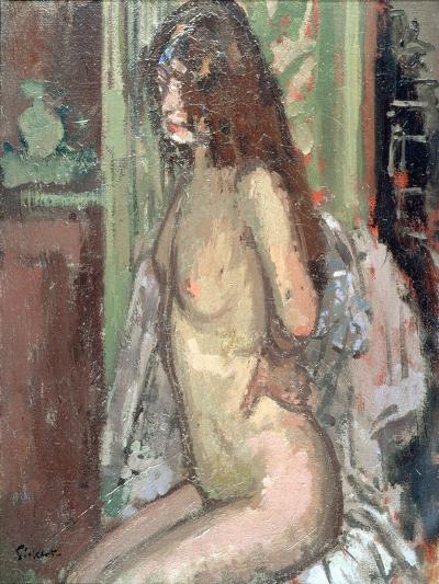 Seated Nude, Paris, 1906-Walter Richard Sickert-Giclee Print