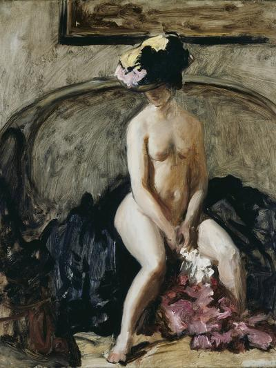 Seated Nude: The Black Hat-Philip Wilson Steer-Giclee Print