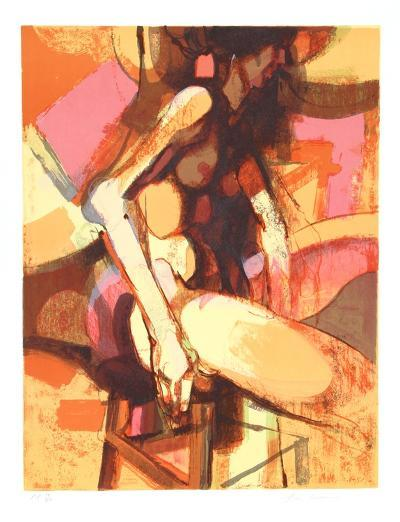 Seated Nude-Jim Jonson-Limited Edition