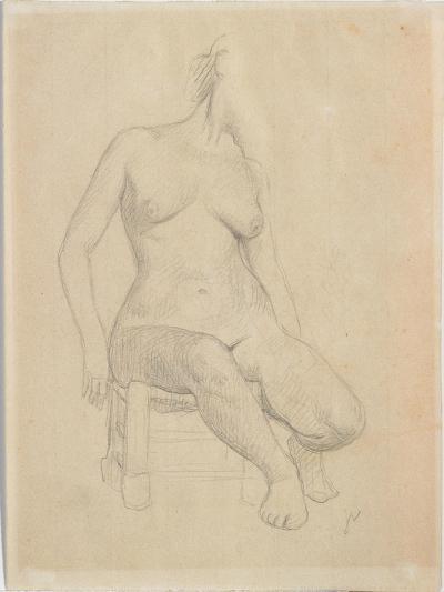 Seated Nude-F?lix Vallotton-Giclee Print