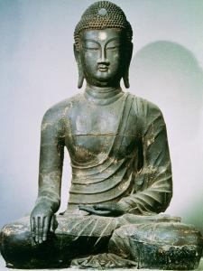 Seated Sakyamuni Buddha from Ch'Ungung-Ni, 10th Century