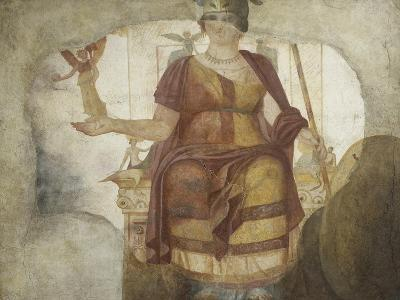 Seated Venus also known as Dea Barberini--Giclee Print