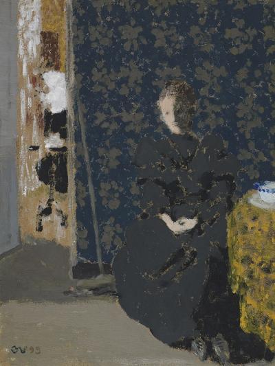 Seated Woman with a Cup of Coffee, 1893-Edouard Vuillard-Giclee Print