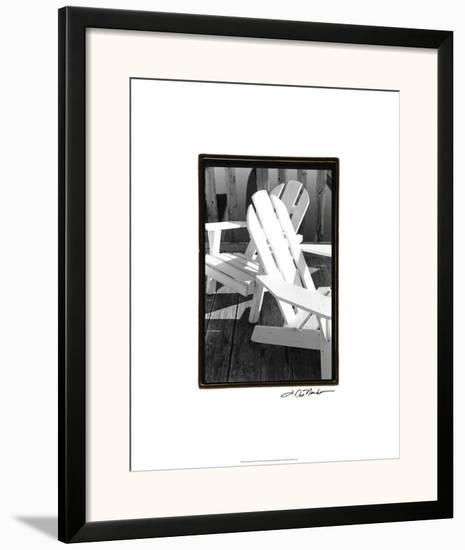 Seating For Two-Laura Denardo-Framed Giclee Print