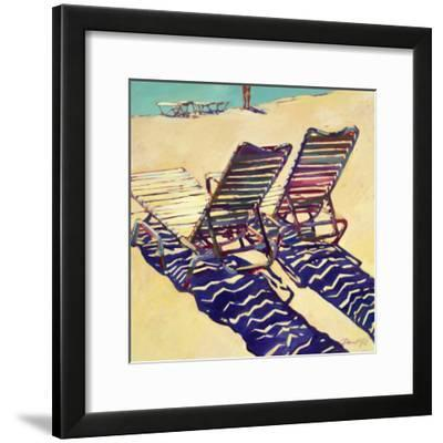 Seating for Two-Darrell Hill-Framed Premium Giclee Print