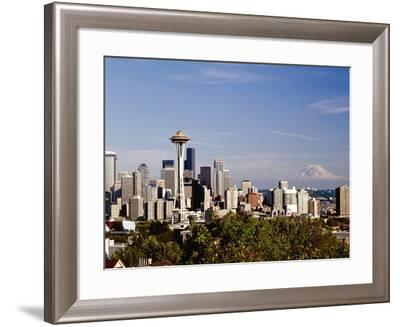 Seattle Cityscape, Seattle, Washington-Monte Nagler-Framed Photographic Print
