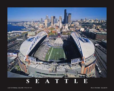 Seattle Seahawks- Quest Field--Art Print