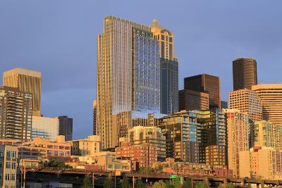 Seattle Skyline, Washington State, United States of America, North America-Richard Cummins-Photographic Print