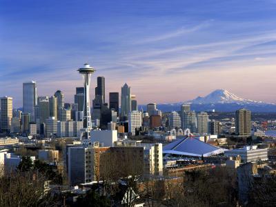 Seattle, Washington-George White Jr^-Photographic Print