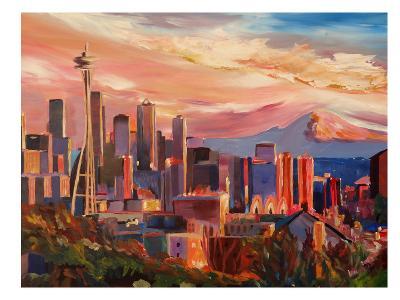 Seattle2-M Bleichner-Art Print