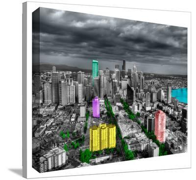 Seattle--Gallery Wrapped Canvas