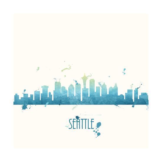 Seattle-Anna Quach-Art Print