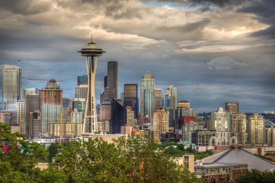 Seattle-Larry J^ Taite-Photographic Print