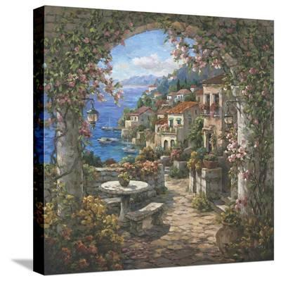 Seaview Hideaway ll-Yuri Lee-Stretched Canvas Print