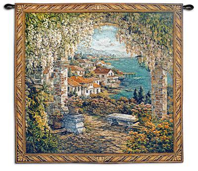 Seaview Hideaway-Yuri Lee-Wall Tapestry