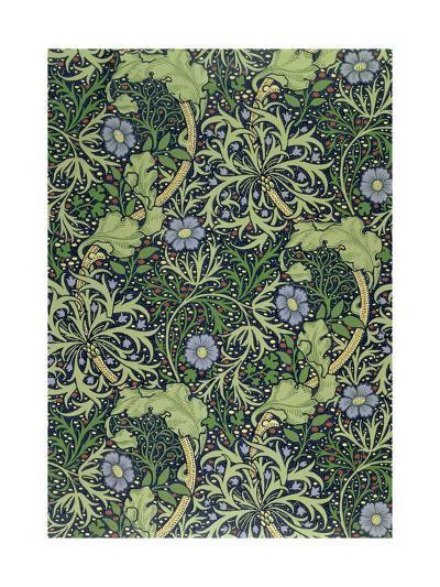 Seaweed Wallpaper Design, printed by John Henry Dearle-William Morris-Giclee Print