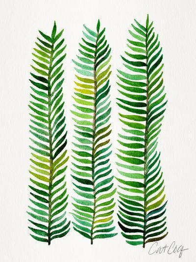 Seaweed-Cat Coquillette-Art Print