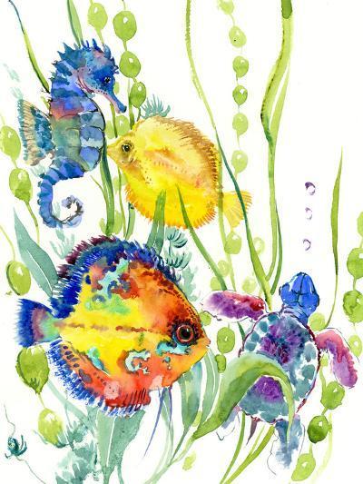 Seaworld-Suren Nersisyan-Art Print