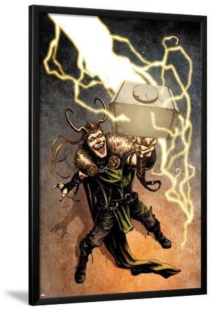 Loki No.1 Cover: Loki Standing