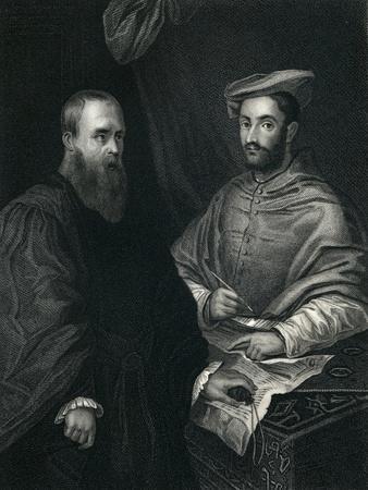 Cardinal Hippolito De Medici and Sebastiano Del Piombo