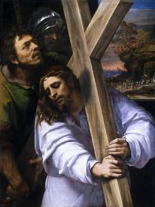Jesus Carrying the Cross, Ca. 1516 by Sebastiano del Piombo