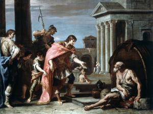 Alexander and Diogenes, Late 17th-Early 18th Century by Sebastiano Ricci