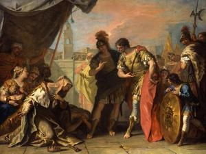 Alexander and the Family of Darius, c.1708-1710 by Sebastiano Ricci