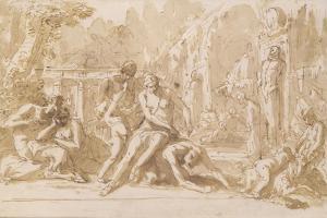 Bacchanal, 1720 by Sebastiano Ricci