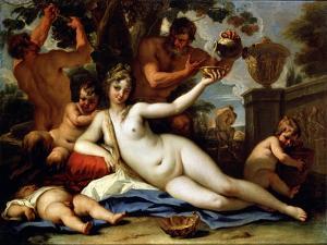 Bacchante and Satyrs, C1713 by Sebastiano Ricci