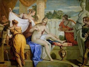 Bathsheba Bathing, circa 1725 by Sebastiano Ricci