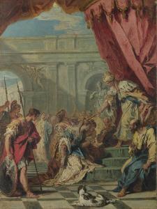 Esther before Ahasuerus, Ca 1730 by Sebastiano Ricci