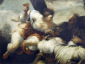 Lot and His Daughters by Sebastiano Ricci