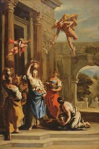 Mercury, Herse and Aglauros by Sebastiano Ricci