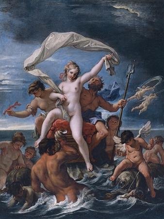 Neptune and Amphitrite by Sebastiano Ricci