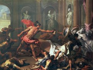 Perseus and Medusa by Sebastiano Ricci