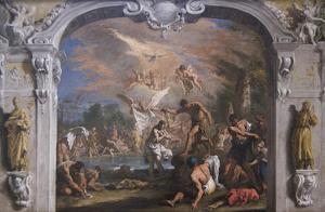The Baptist of Christ by Sebastiano Ricci