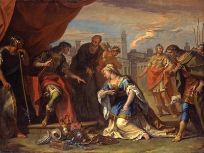 The Continence of Scipio, c.1708-1710