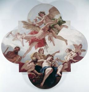 The Taming of Cupid by Sebastiano Ricci